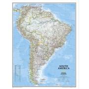 Sydamerika NGS 1:11,121milj. POL 60x77cm