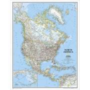 Nordamerika NGS 1:8,95milj. POL 91x117cm