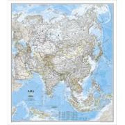 Asien NGS 1:13,8milj. POL 84x96cm