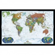 Världen NGS 1:36,38 milj Decorator 117x77cm