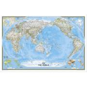 Världen NGS 1:36,38milj POL Pacific Centered 117x77cm