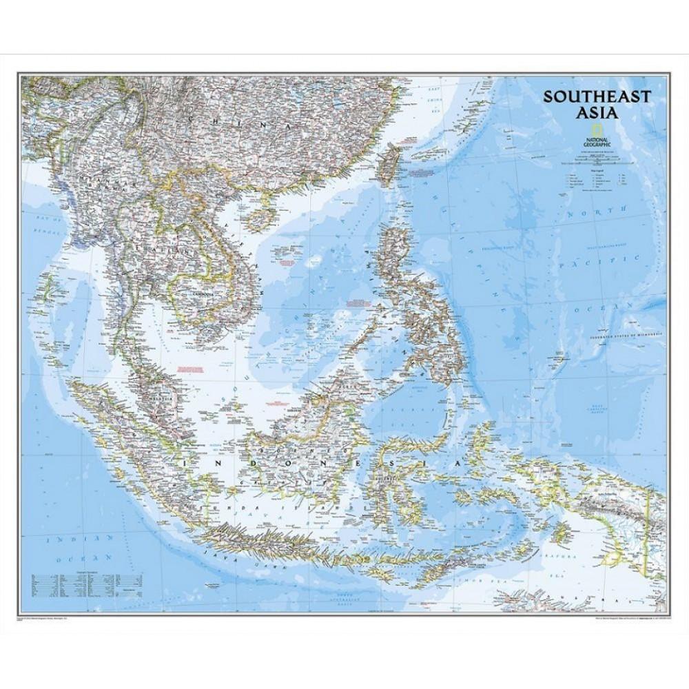 Sydostasien NGS 1:6,5milj POL