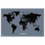 Världen NGS World Modern 1:36milj 92x61cm