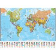 Världen MapsInt. 1:30milj (POL) 136x100cm