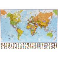 Världen MapsInt. 1:60milj (POL) 68x53cm