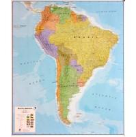 Sydamerika Maps International 1:7m POL 100x120cm