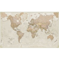 Världen MapsInt. Antique 1:30milj (POL) 136x84cm