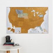 Scratch USA Maps International