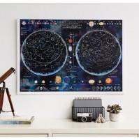 Självlysande Stars & Constellations Maps International