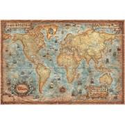 Världskarta Ray & Co. Antik 1:30 milj