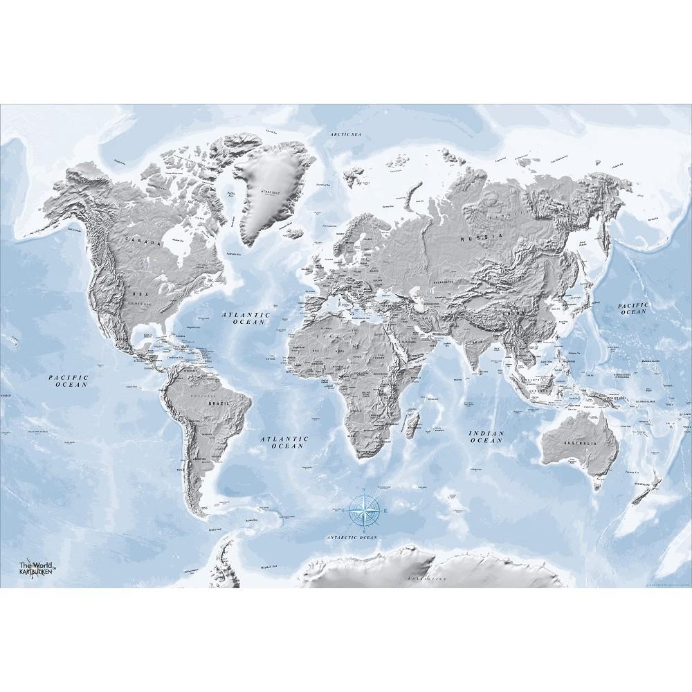The World by Kartbutiken Silver