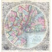"""New York 1879 """"Thirty miles Around"""""""