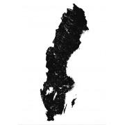 Sverige Poster 50 x 70 cm