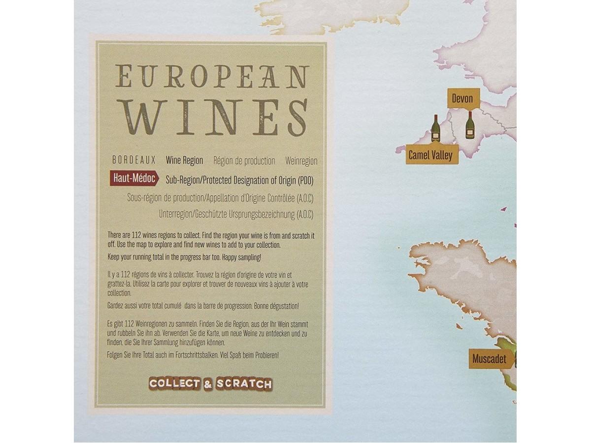 Scratch Vinkarta Europa